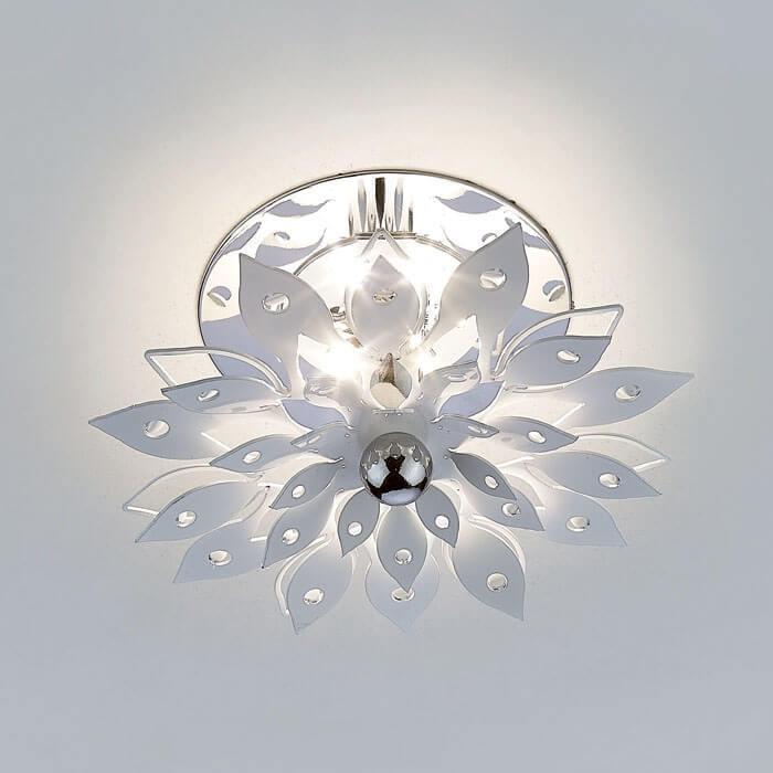 Встраиваемый светодиодный светильник Ambrella light LED S100 W 3W 4200K diy 3w 6000k 315lm white light round cob led module 9 11v