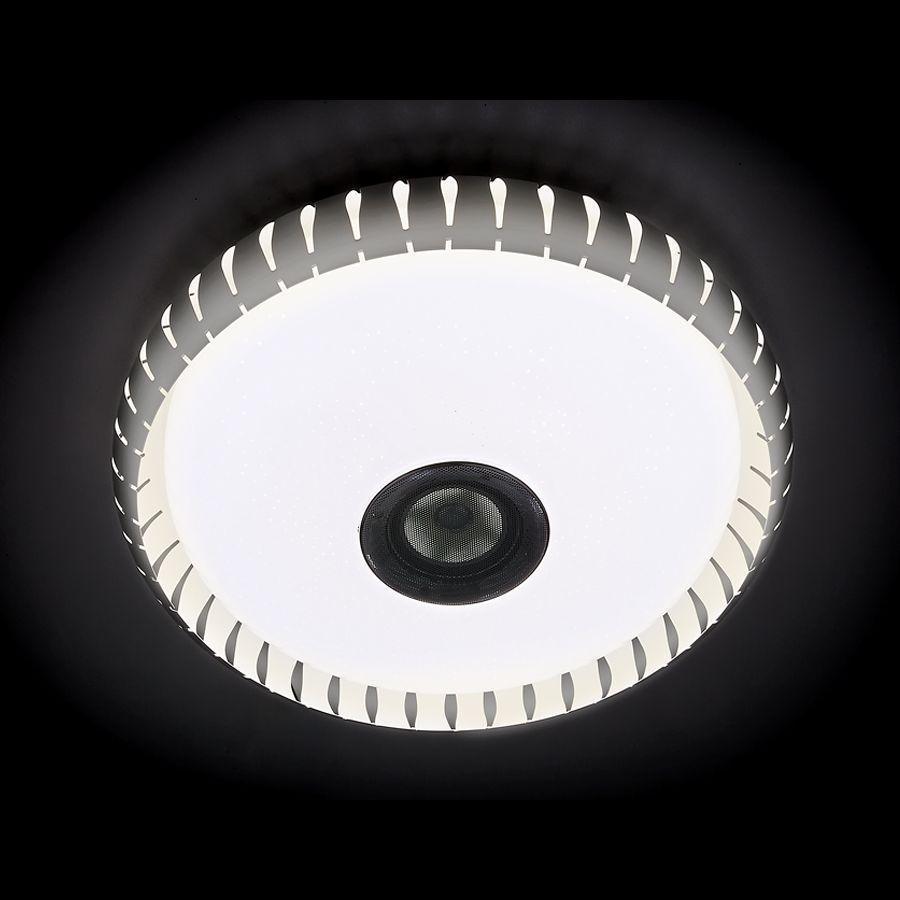 Потолочный светодиодный светильник Ambrella light Orbital Dance F787 WH 72W D500 светильник ambrella orbital f86 wh 72w d500