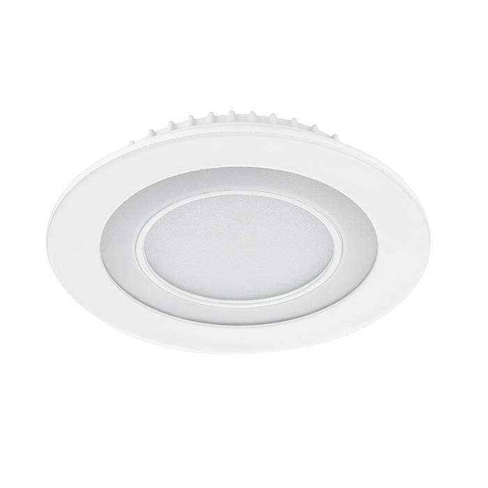 Встраиваемый светодиодный светильник Ambrella light Led Downlight S340/12+4 0 63w 36lm 12 led white light car daytime running light 12v 2pcs