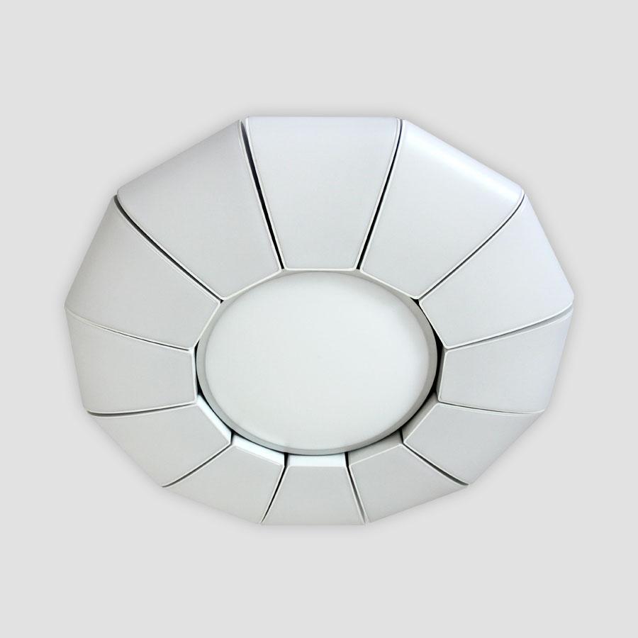 Потолочный светодиодный светильник Ambrella light Orbital Parrus FP2311 WH 114W D480 50pcs lot aod480 d480 to 252