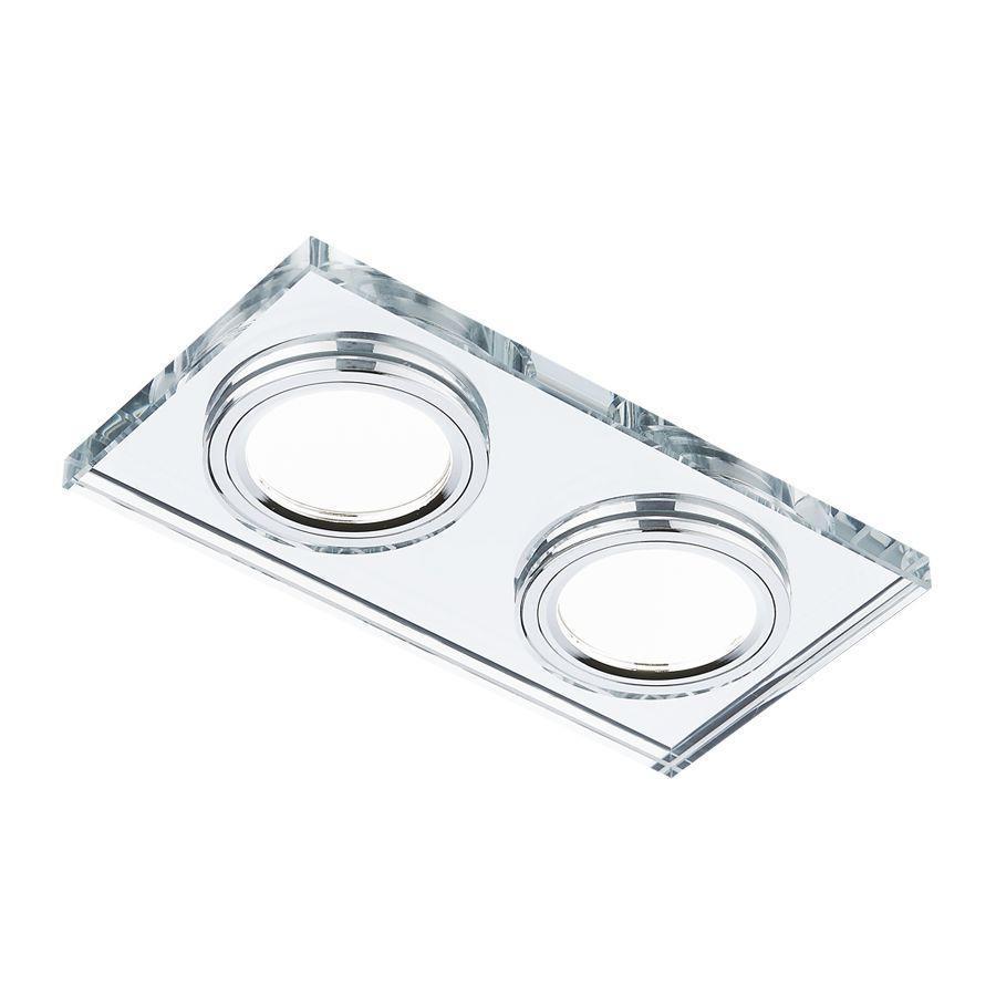 цена Встраиваемый светильник Ambrella light Classic 8170/2 CL
