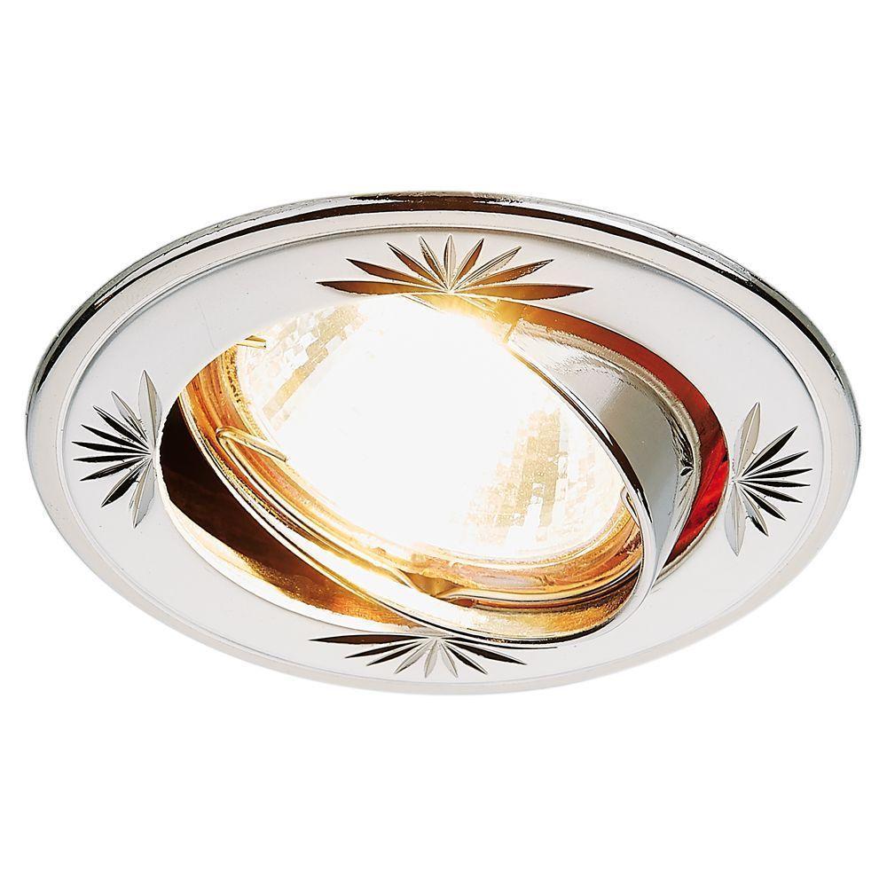 Встраиваемый светильник Ambrella light Classic 104A CF PS/N светильник подвесной n light n light 713 713 03 12ch polished nickel