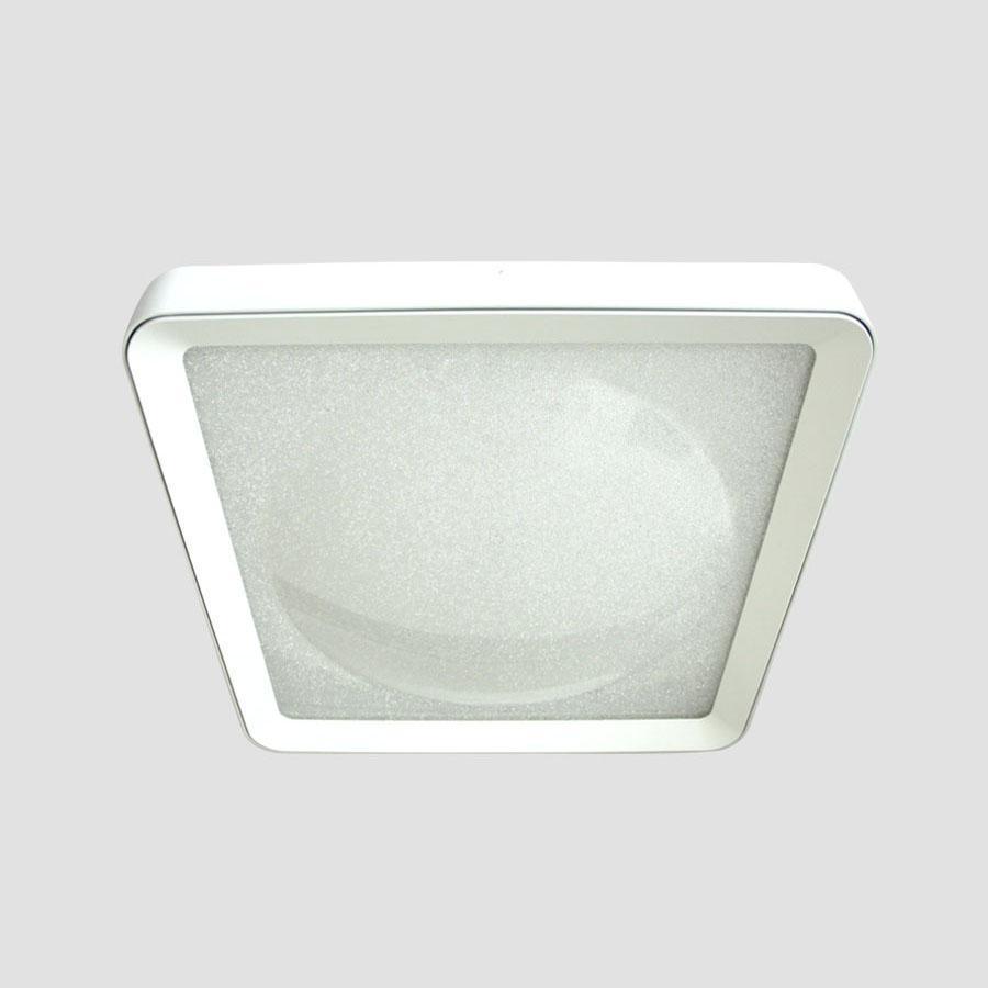 Потолочный светодиодный светильник Ambrella light Orbital Crystal Sand FS1216 WH/WH 72W+29W D500*500 светильник ambrella orbital f86 wh 72w d500