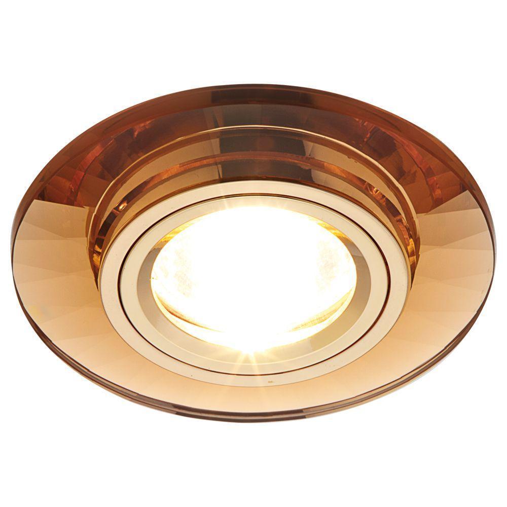 Встраиваемый светильник Ambrella light Classic 8160 BR ambrella встраиваемый светильник ambrella classic 8060 br