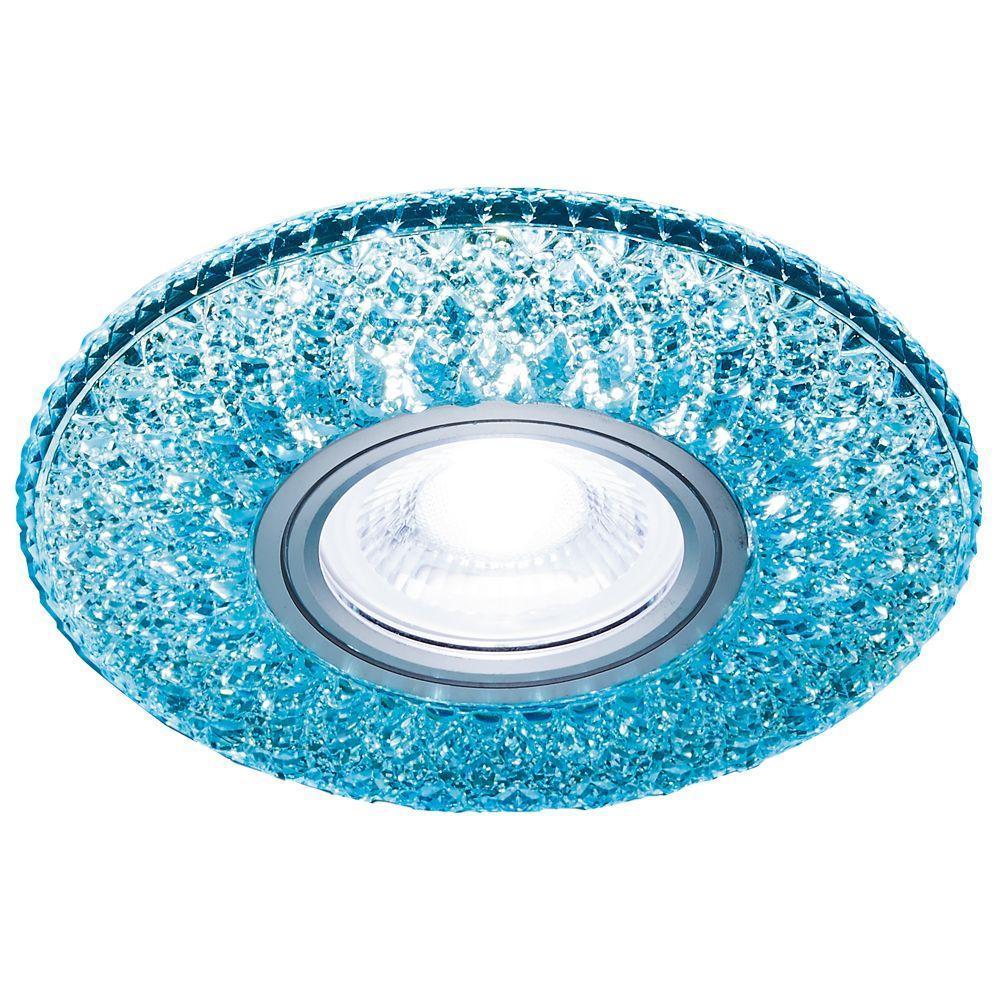 Встраиваемый светодиодный светильник Ambrella light Led S333 BL/WH