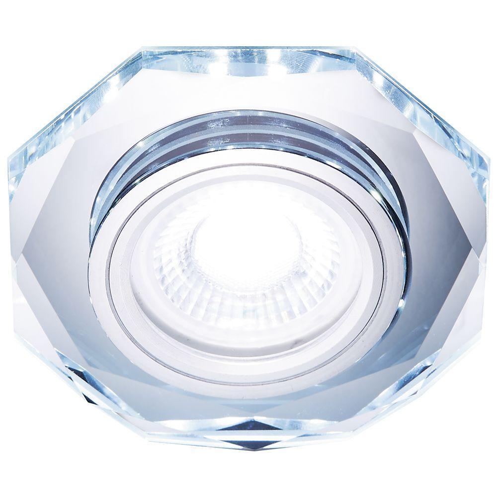 Встраиваемый светодиодный светильник Ambrella light Led S213 CL pro svet light mini par led 312 ir