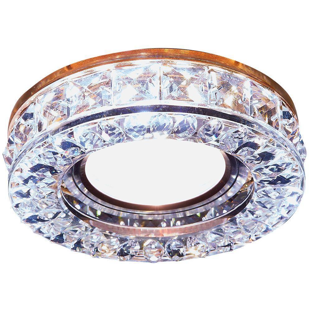 Встраиваемый светодиодный светильник Ambrella light Led S241 BR pro svet light mini par led 312 ir