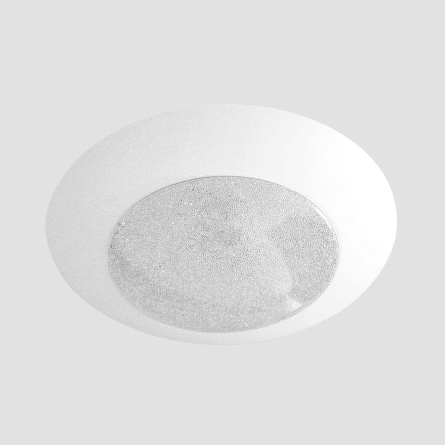 Потолочный светодиодный светильник Ambrella light Orbital Crystal Sand FS1250 WH/SD 48W D390 ambrella потолочный светодиодный светильник ambrella orbital crystal sand fs1540 wh sd 108w d540 540