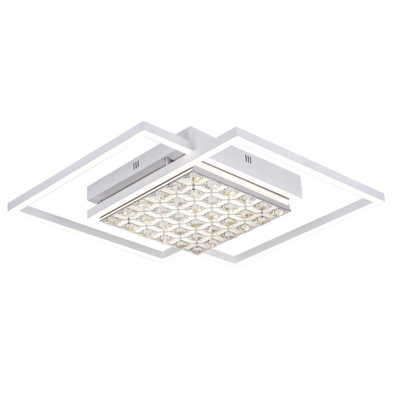Потолочный светодиодный светильник Ambrella light Modern Acrylic FA112 acrylic snowflake led pendant light creative 32 light chrome color metal body pmma lampshade decoration light suspension lamp