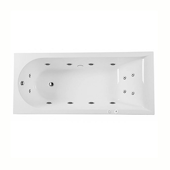 Акриловая ванна Am.pm Inspire 180x80 гидромассажная ванна д ног pmb 0805 polaris