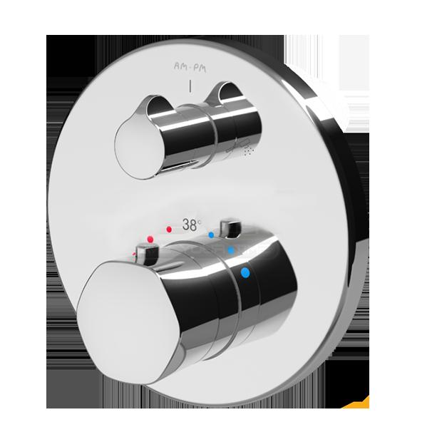 Смеситель Am.pm Gem F9085500 для душа смеситель для ванны с душем am pm gem встроенный с термостатом f9085500