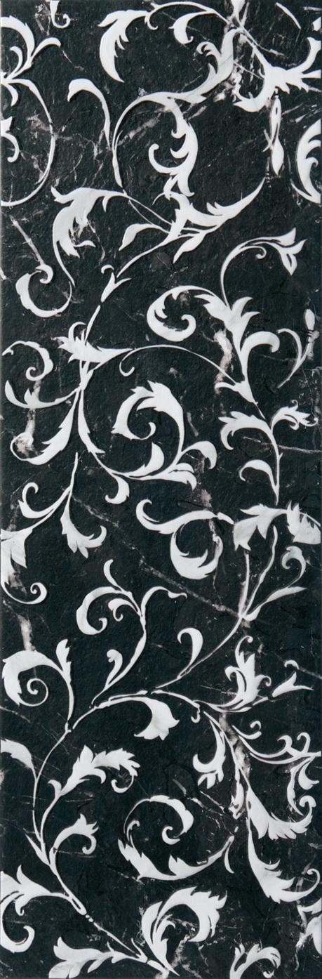 Настенная плитка Aparici +12879 TOLSTOI MARQUINA PEARL бордюр aparici tolstoi emile marquina zocalo 20x25 1