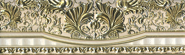 Бордюр Aparici +15269 Chisel Gold Cenefa бордюр codicer 95 versalles orleans cenefa blue 25x25