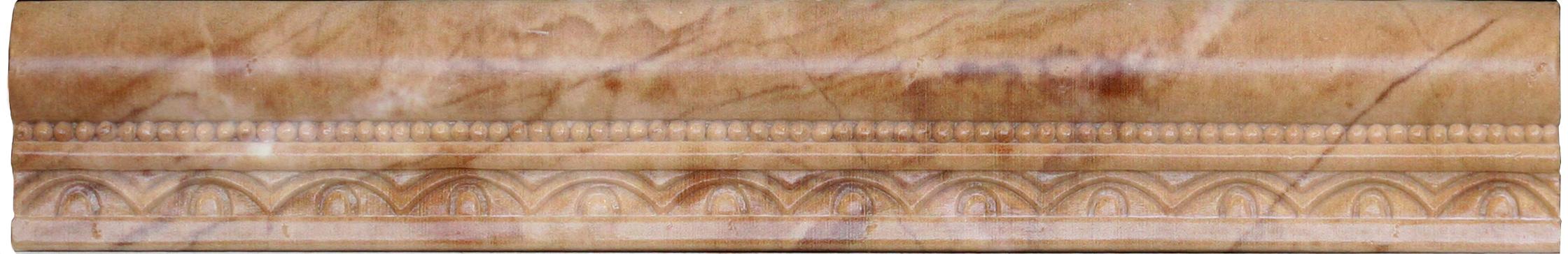 Бордюр Aparici +12886 EMILE BEIGE MOLD бордюр blau versalles mold michelle 3 5x25