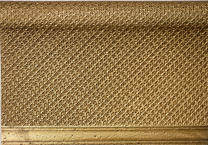 Бордюр Aparici +13285 SYMBOL GOLD ZOCALO бордюр almera ceramica orleans zocalo tarragone gold aqua marine 15x15