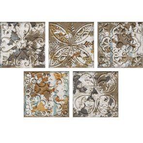 Настенная плитка Aparici +22480 Aged Dark Ornato настенная плитка aparici pashmina ivory ornato 20x59 2