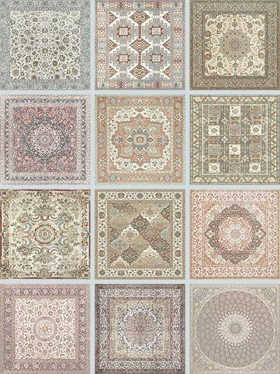 Напольная плитка Aparici +22487 Kilim Nain Natural kilim print table cloth