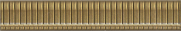 Бордюр Aparici +16739 Majestic Gold Mold 988