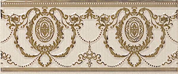 Бордюр APE Ceramica Loire +17567 Listelo Agustine Gold Ivory бордюр ape ceramica lord zocalo negro 15x20