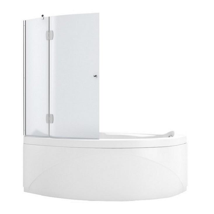 Шторка для ванны Aquanet Jamaica AQ2 L 100*135 узорчатое стекло jamaica jamaica no problem