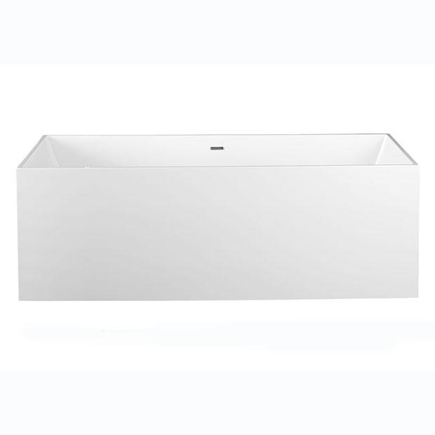 Ванна Aquanet Soul Smooth TC-S107 170x73, глянцевая soul x shock white
