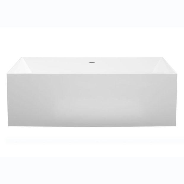 Ванна Aquanet Soul Angle TC-S14 175x73, глянцевая soul x shock white