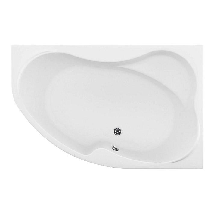 Акриловая ванна Aquanet Capri 160х100 R без гидромассажа слив перелив alcaplast для ванны под бронзу a55 antic