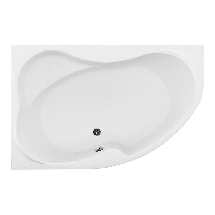 Акриловая ванна Aquanet Capri 160х100 L без гидромассажа акриловая ванна aquanet capri 170x110 l с ножками