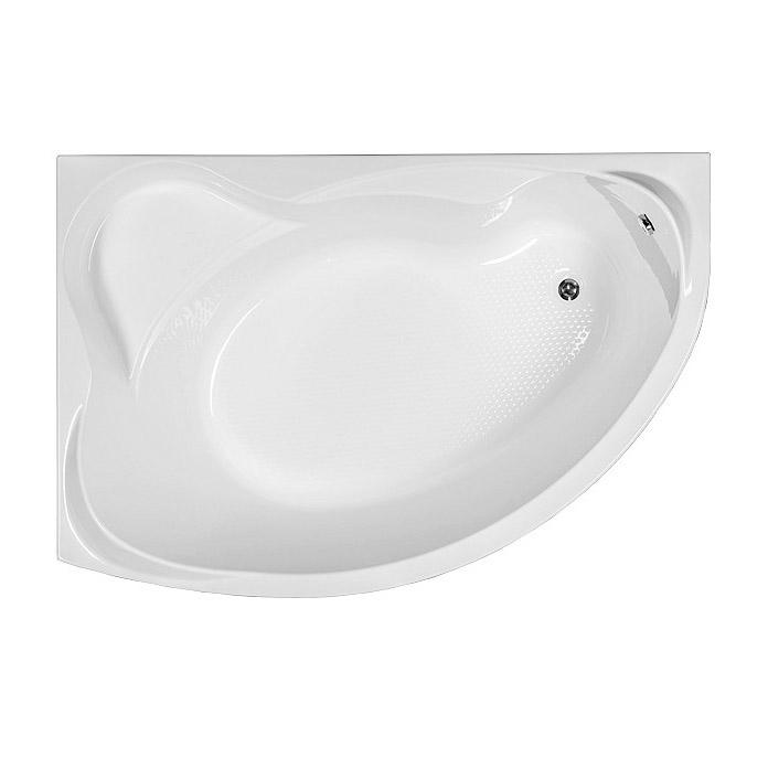 Акриловая ванна Aquanet Jamaica 160x100 L без гидромассажа акриловая ванна aquanet jamaica 160x100 r правая с каркасом без гидромассажа 205503
