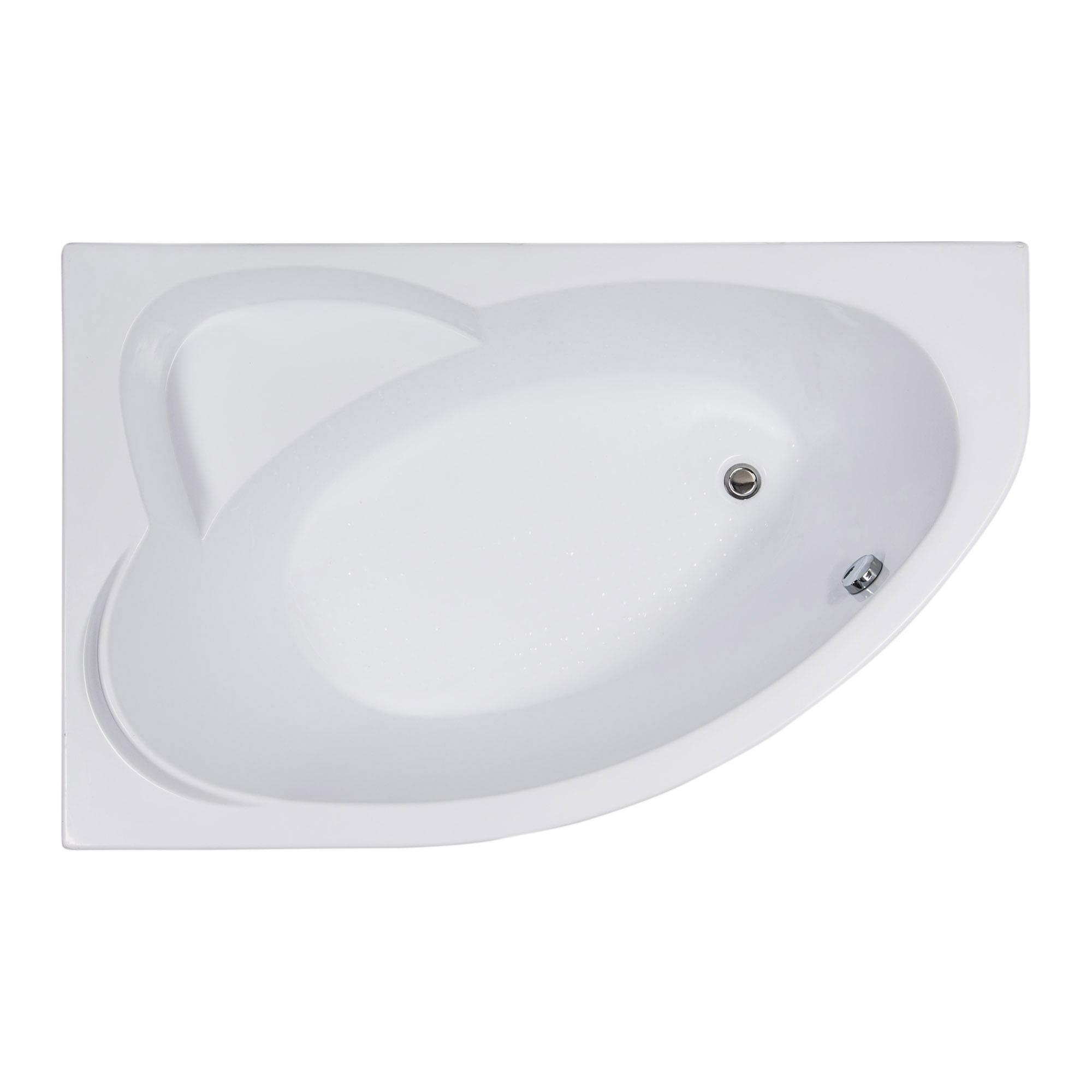 Акриловая ванна Aquanet Sarezo 160x100 L без гидромассажа недорого