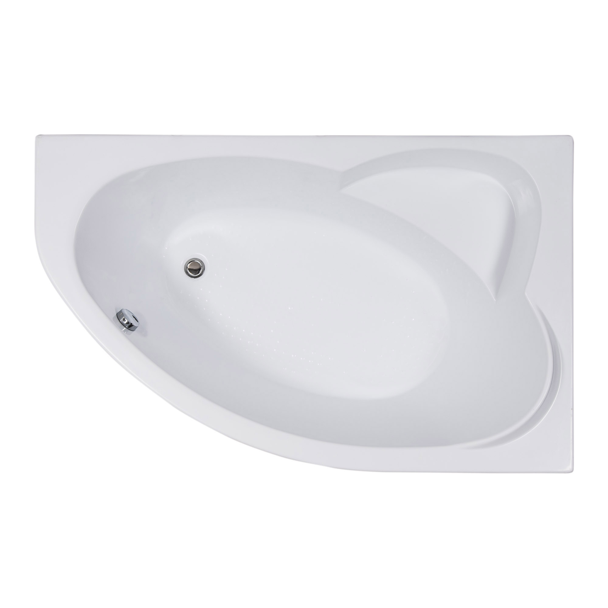 Акриловая ванна Aquanet Sarezo 160x100 R без гидромассажа недорого