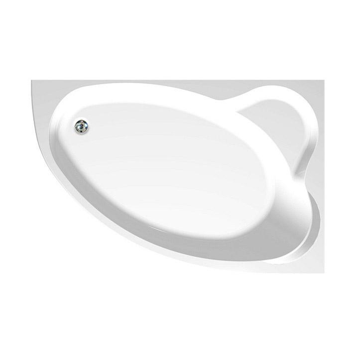 Акриловая ванна Aquanet Mayorca 150x100 R без гидромассажа слив перелив alcaplast для ванны под бронзу a55 antic