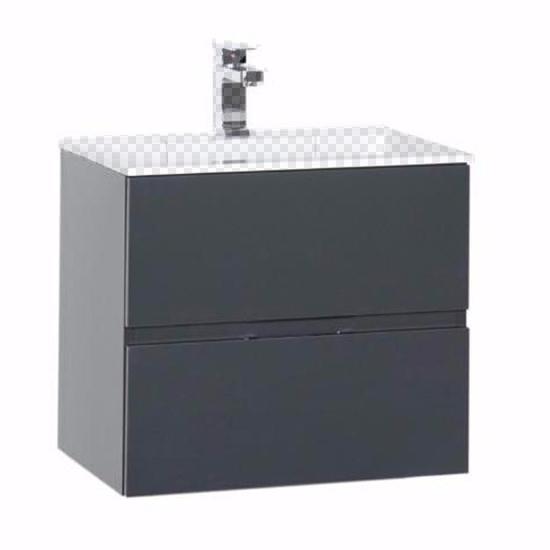 Тумба под раковину Aquanet Алвита 60 серый антрацит шкаф пенал aquanet алвита 40 серый антрацит 183993