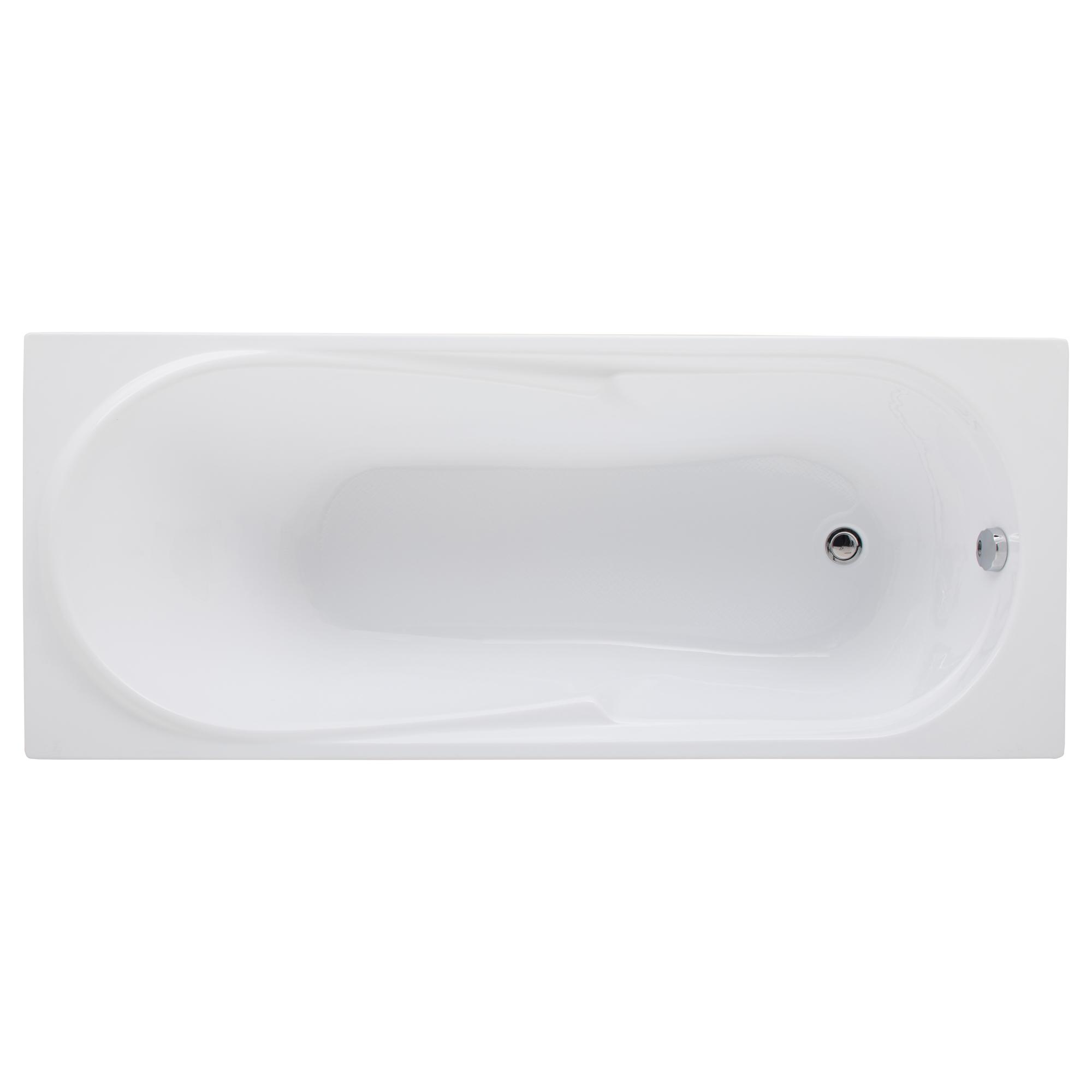 Акриловая ванна Aquanet Hellas 170х70 без гидромассажа ванна без гидромассажа tansa s сталь 170х70 см