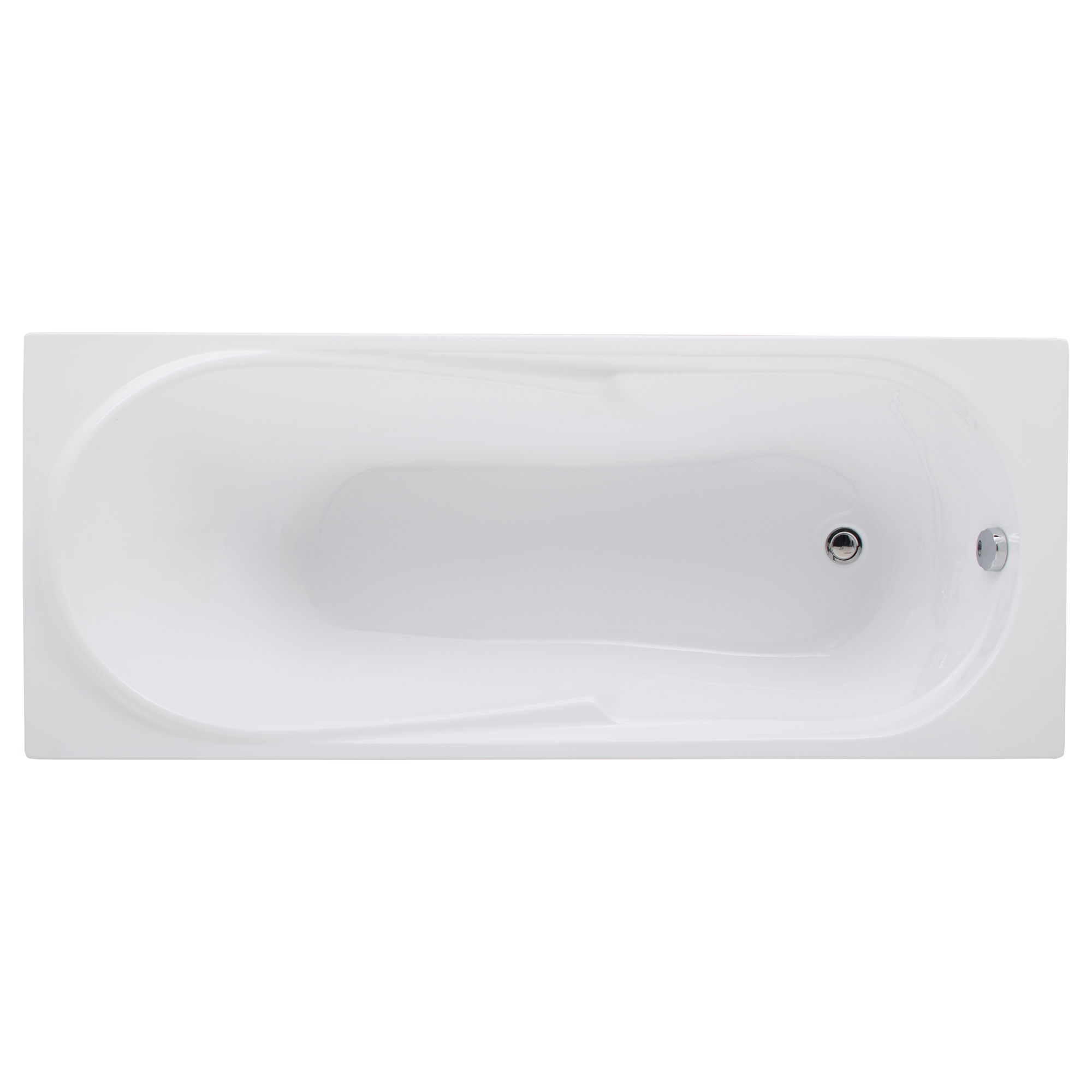 Акриловая ванна Aquanet Hellas 170х70 без гидромассажа акриловая ванна am pm like 170х70