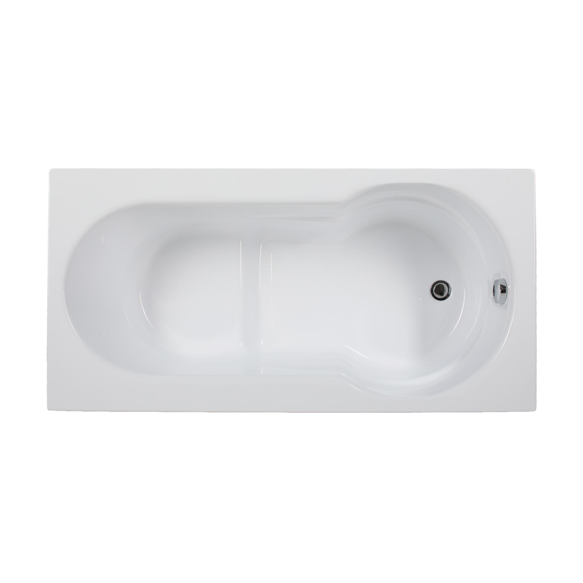 Акриловая ванна Aquanet Largo 140х70 слив перелив alcaplast для ванны под бронзу a55 antic