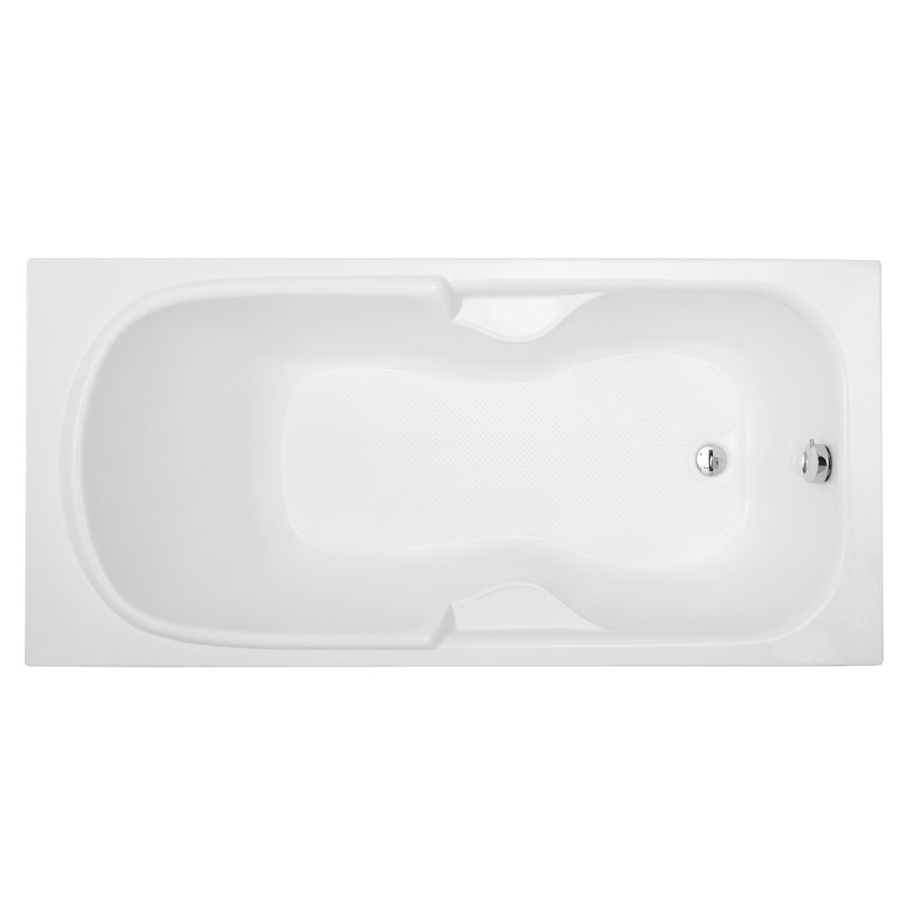 Акриловая ванна Aquanet Polo 170x80 без гидромассажа акриловая ванна aquanet vitoria 204049
