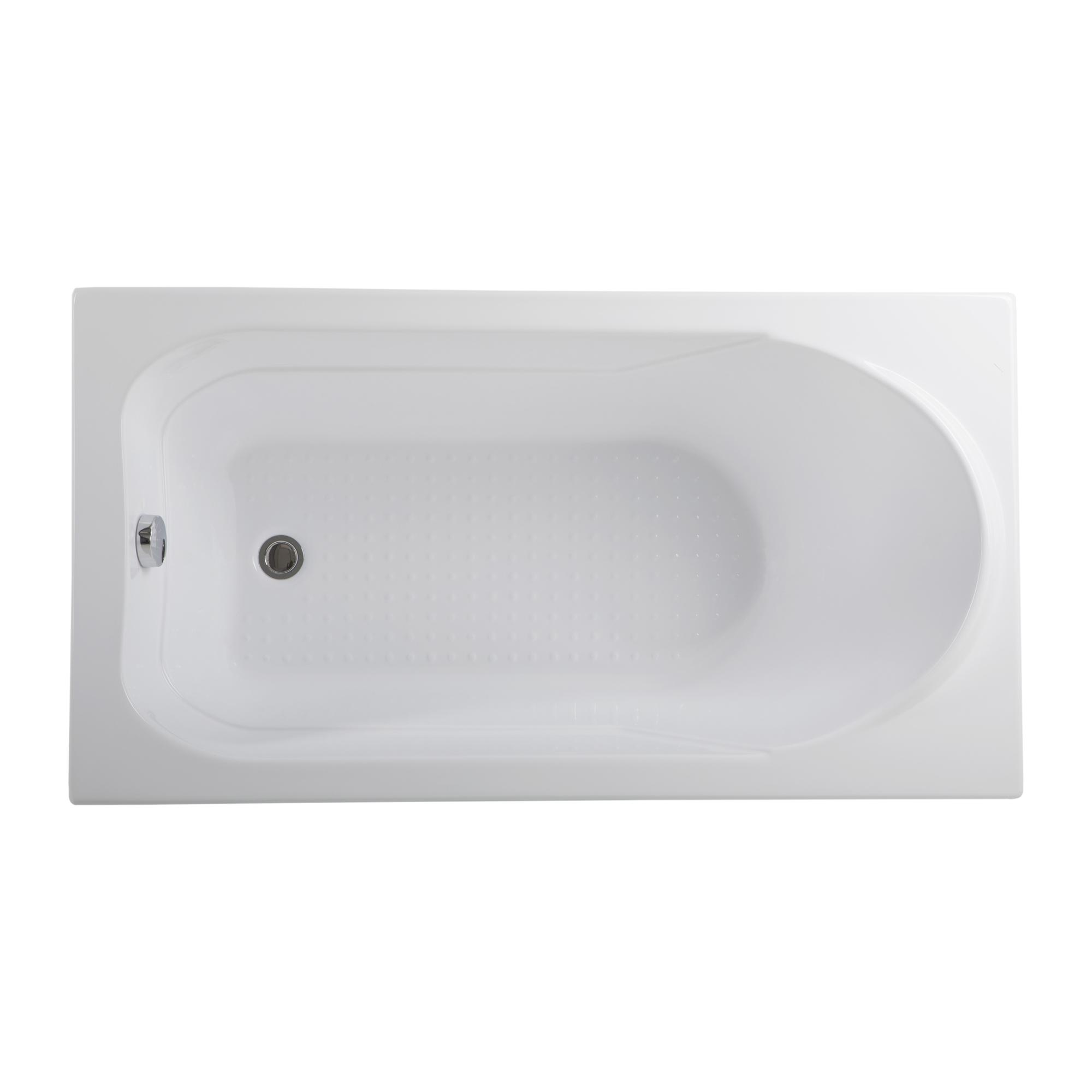Акриловая ванна Aquanet West 130х70 слив перелив alcaplast для ванны под бронзу a55 antic