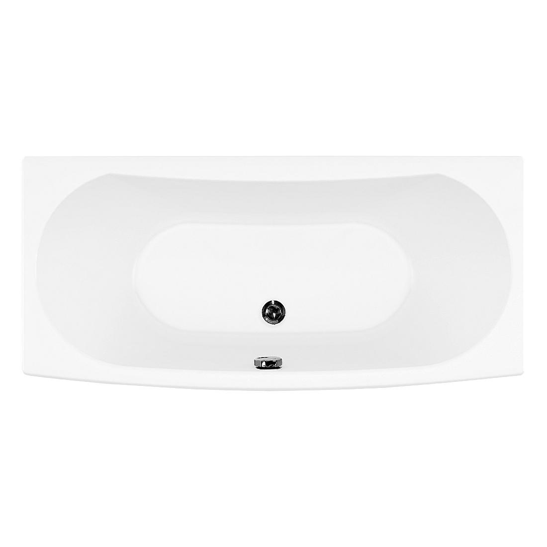 Акриловая ванна Aquanet Izabella 160x70 без гидромассажа слив перелив alcaplast для ванны под бронзу a55 antic