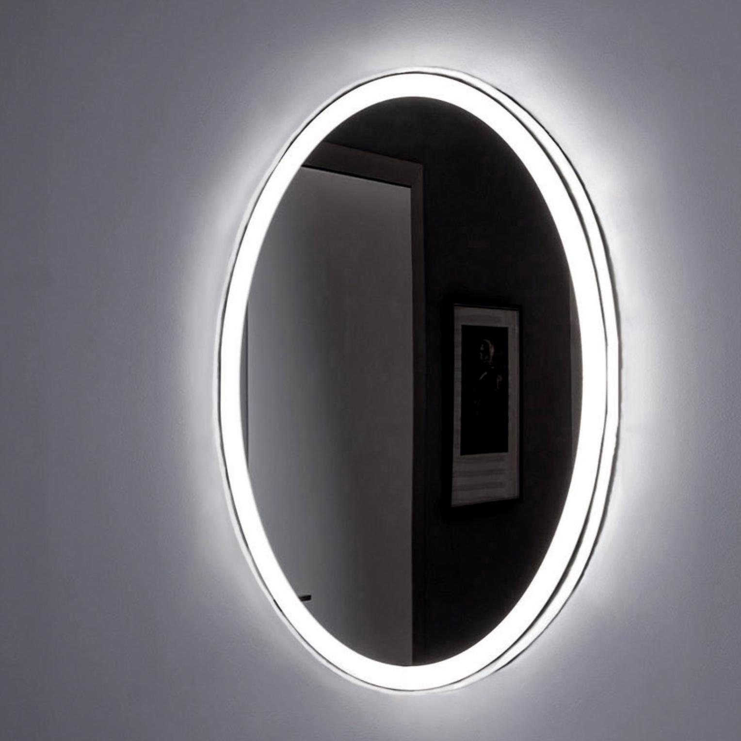 Зеркало Aquanet Комо 6085 с LED подсветкой