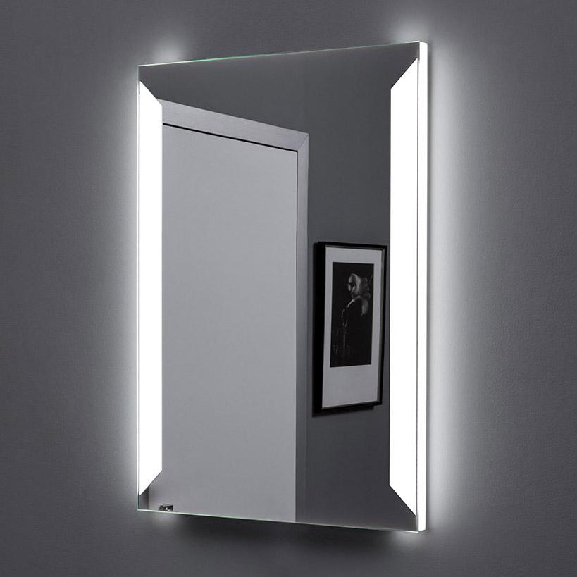 Зеркало Aquanet Сорренто 6085 с LED подсветкой