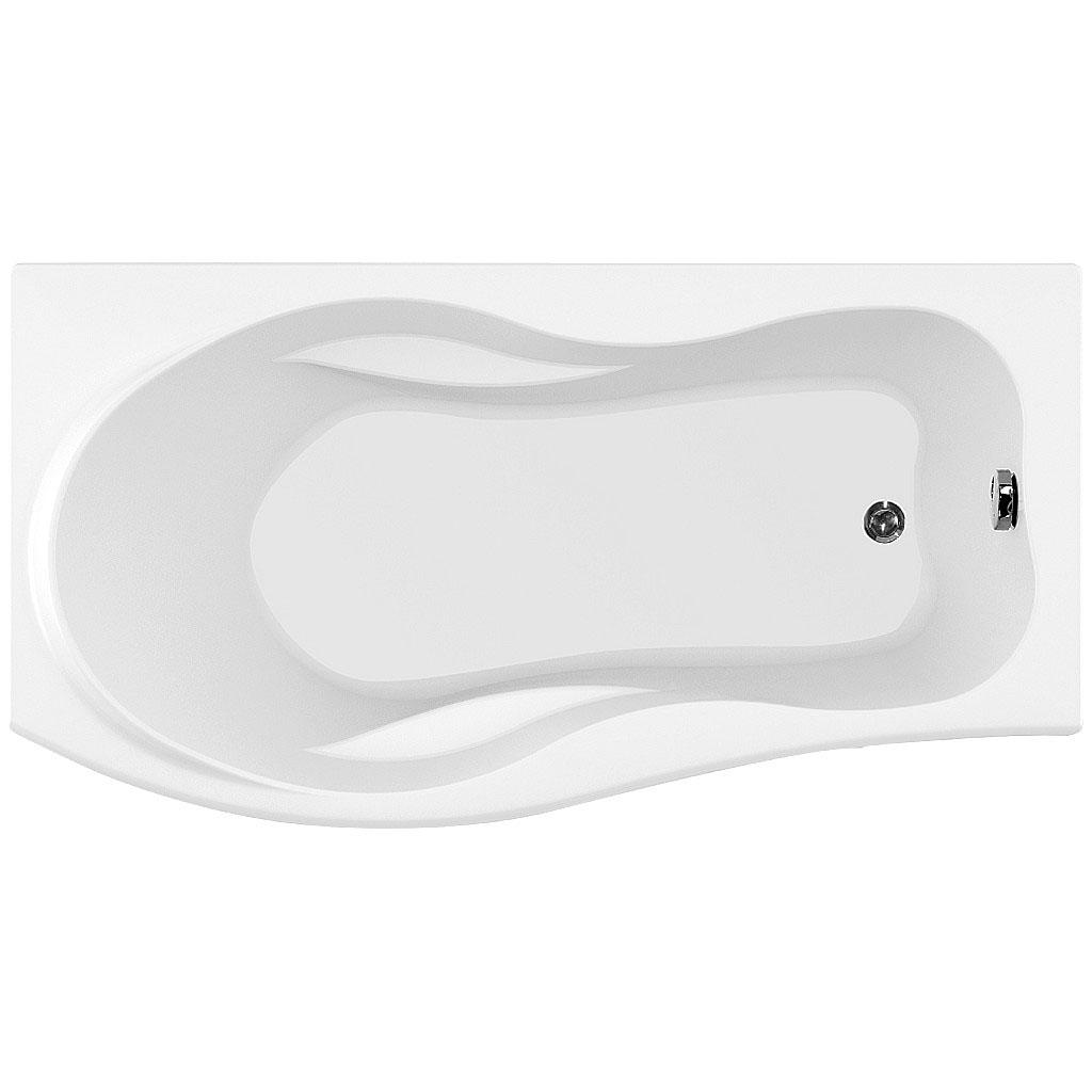 Акриловая ванна Aquanet Borneo 170x90 L без гидромассажа ванна aquanet borneo 170x90 r
