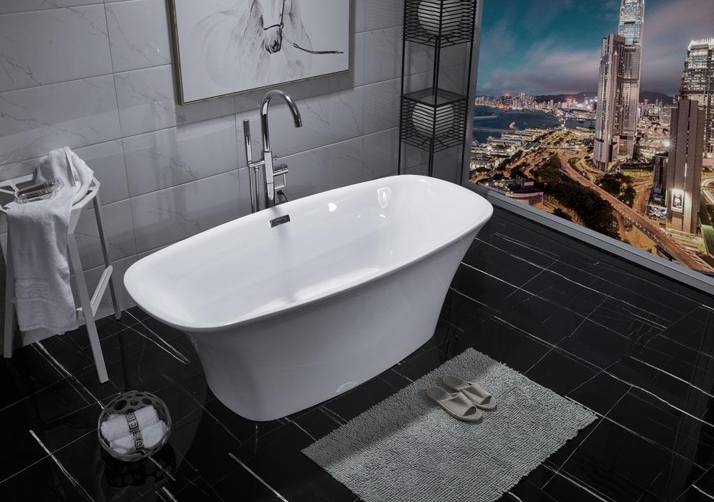 Акриловая ванна Aquanet Pleasure 170x78 акриловая ванна aquanet delight 208600 170x78