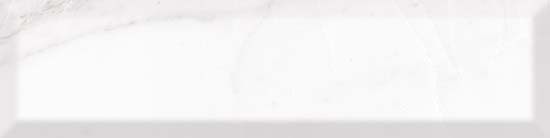 Carrara White bevel плитка настенная 75x300 мм