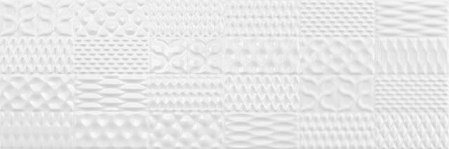 Настенная плитка Argenta Sinan Decor White Brillo 30х90