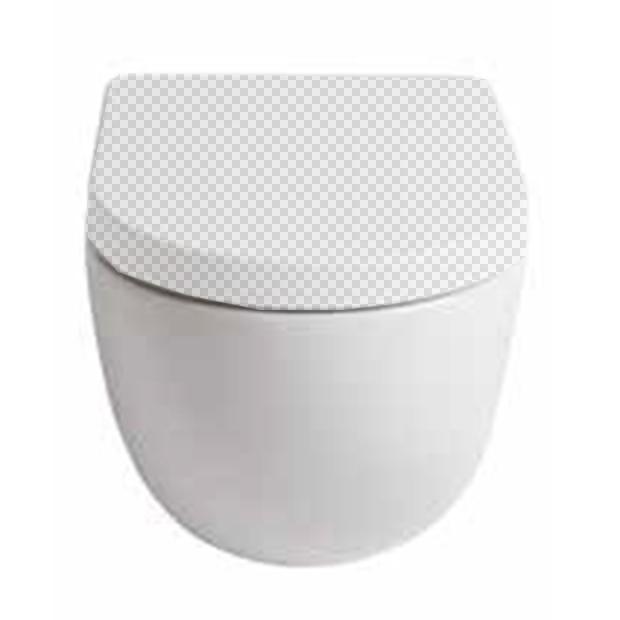 Приставной унитаз ArtCeram FLV002 05;00 белый матовый без сидения