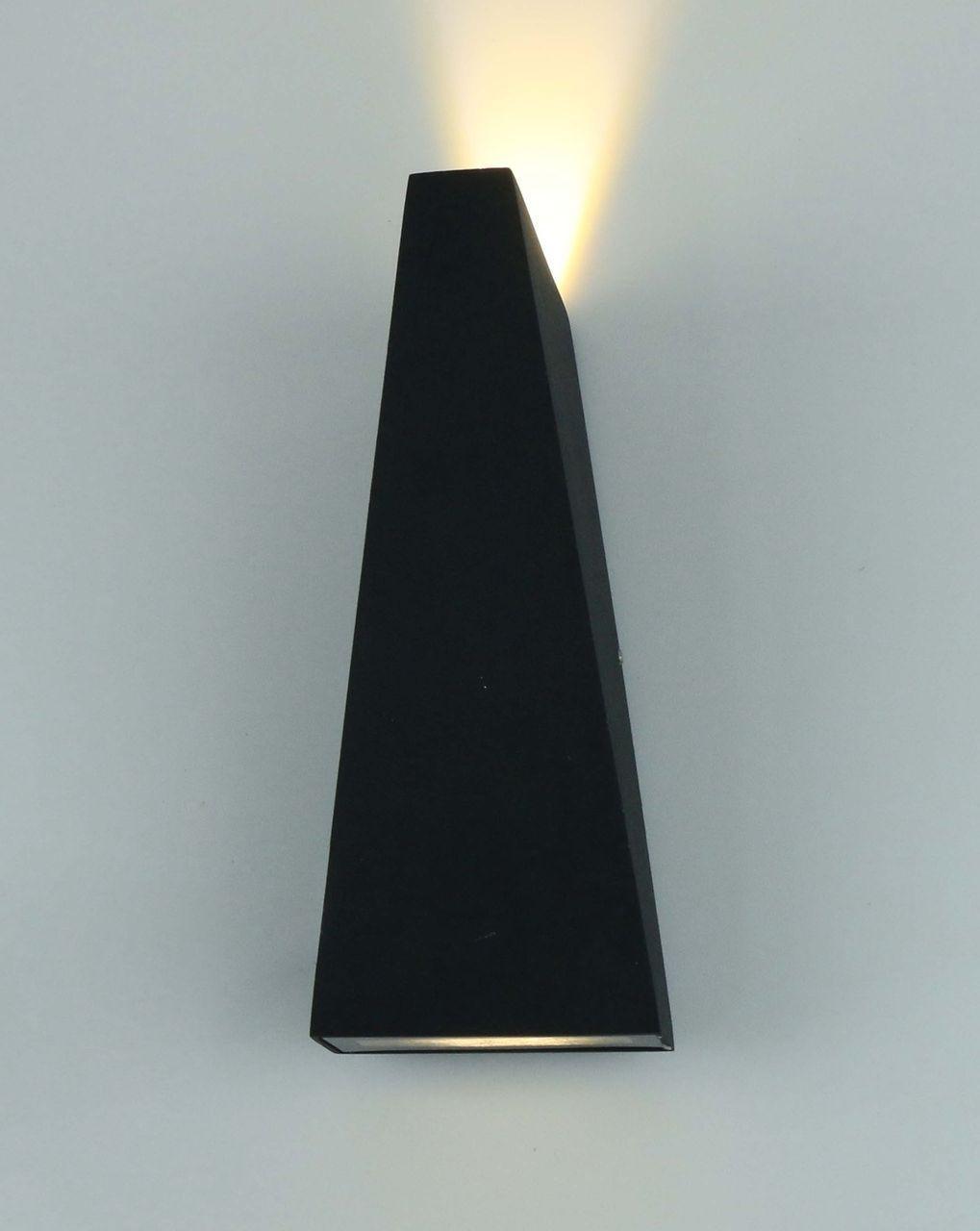 Уличный настенный светодиодный светильник Arte Lamp Cometa A1524AL-1GY уличный настенный светодиодный светильник arte lamp cometa a1524al 1wh