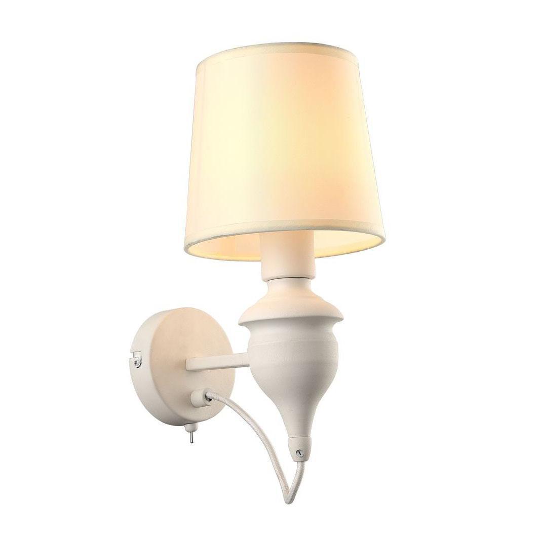 Бра Arte Lamp Sergio A3326AP-1WH arte lamp бра arte lamp angelina a5349ap 1wh