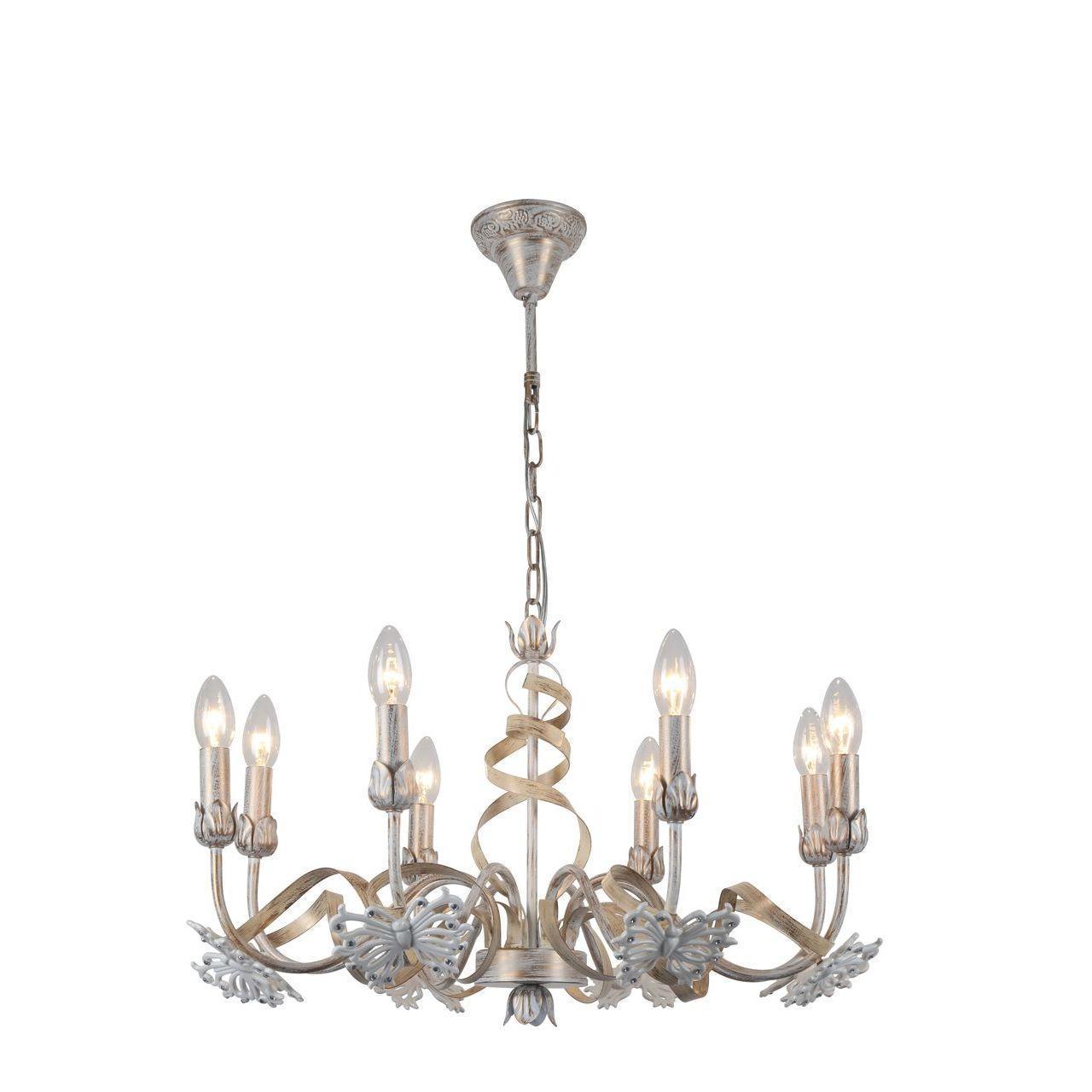 Люстра Arte Lamp Libellula A8626LM-8WG подвесная подвесная люстра arte lamp tilly a5333lm 8wg