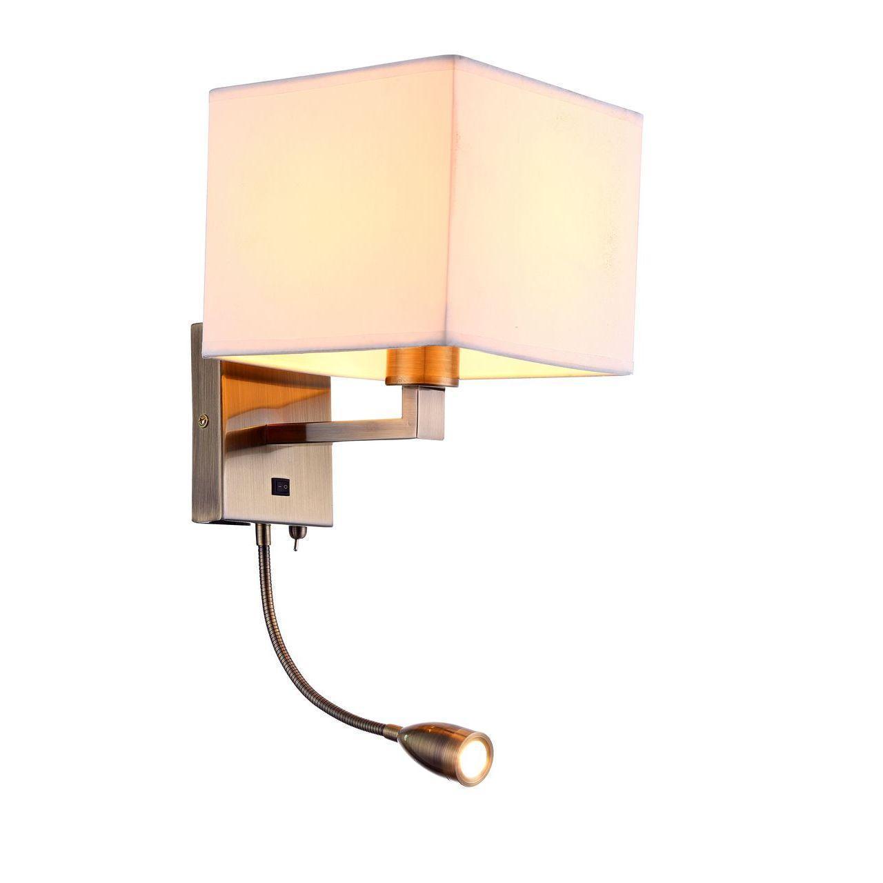 Бра Arte Lamp Hall A9249AP-2AB arte lamp бра artelamp a3777ap 2ab